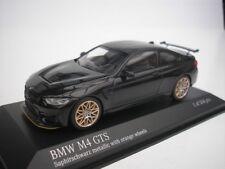 BMW M4 GTS 2016 NERO ZAFFIRO/Arancione CERCHIONI 1/43 Minichamps 410025222 NUOVO