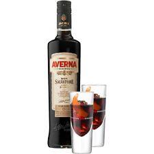 Averna Riserva Don Salvatore Amaro Siciliano 0,7 Liter 34 % Vol. mit 2 Gläsern