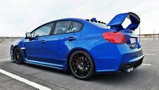 Cup techo alerón trasero negro para Subaru WRX STI alerón astilla rear ABS