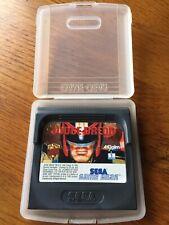 Judge Dredd Sega Game Gear Spiel mit Kunststoffhülle-sehr guter Zustand getestet
