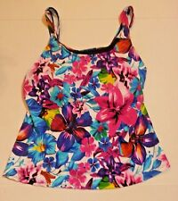 Swimsuits For All Size 12 Tankini Swimsuit Top Beach Belle Tropical Floral