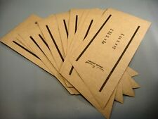 10 Vintage Window Trap US or Foreign Coin Roll Wrappers UNIVERSAL Coin roll wrap