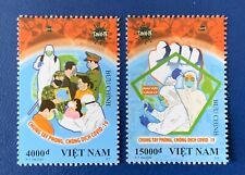 Vietnam 2020 Anti nCoV Fight The Virus Set Of 2 Stamps VN #1121 2 Mint MNH