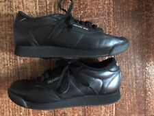 Reebok Classic Princess Women's Black Athletic Sneakers Shoes Size 7 New