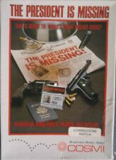 The President is Missing (COSMI, 1988) Commodore Amiga (box, Manual, game)