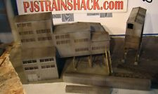 HO Scale Walthers New River Mine Building Built Up Weathered