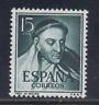 ESPAÑA (1950) MNH NUEVO SIN FIJASELLOS SPAIN - EDIFIL 1073 (15 cts) - LOTE 2