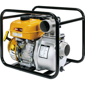 "XP 7hp 3"" & 2"" Gas Water Pump Semi Trash Pump 3"" inlet outlet NPT pool Marine"