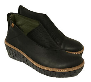 NEW! El Naturalista Myth Yggdrasil Black Leather Ankle Boots N5131F  EU 37 (7)