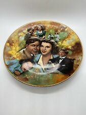 "Golden Age of Cinema Collectors Plate - ""Judy and Mickey"" WHITTAKER COLLECTION"
