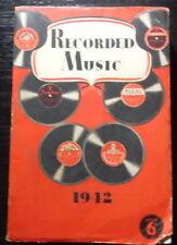 Australian EMI RECORD CATALOGUE 1942