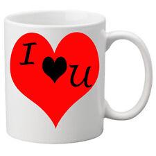 I Love You in un cuore rosso su una qualità TAZZA. grande novità 11oz Tazza