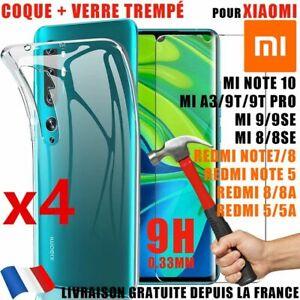 Hülle Xiaomi Redmi Note 6 7 8 T-Shirt 9 Profi Hartglas Mi 11 10 10T 9 Se Lite 8