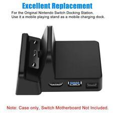 Für Nintendo Switch Docking Station Mini Ersatz Dock Case Cover mit Schrauben