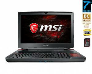 MSI GT83VR 7RE Titan SLI (GTX 1070 SLI) 32GB BDDR4 Ram