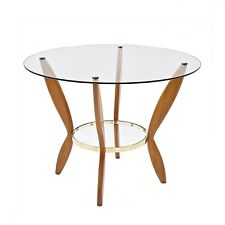 GIO PONTI tavolino coffee table  ripiani in vetro . Vintage design Italia 1950s