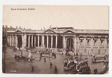 Dublin,Ireland,Bank of Ireland,Double Decker Buses,c.1909