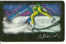 RARE / CARTE TELEPHONIQUE - PATINAGE ARTISTIQUE JEUX OLYMPIQUE OLYMPIC PHONECARD