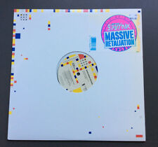 "SIGUE SIGUE SPUTNIK - Massive Retaliation 12"" Vinyl Single EX+ 1986 UK Pressing"
