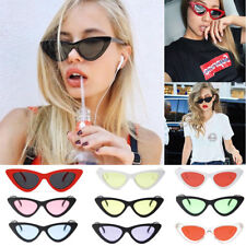 Moda Para Mujer Vintage Retro Cat Eye TRIÁNGULO Gafas De Sol Uv400 Gafas