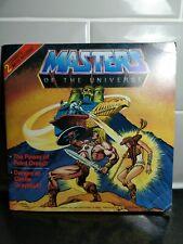 Amos del universo he-man Comic Book 2 historias de Mattel con registro Amos del universo