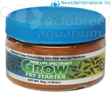 Spectrum Grow Fry Starter Micro Particle Freshwater Saltwater Fish Food 50g