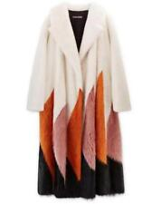 New Tom Ford F/W 2016 Collection Mink Long Coat White Orange Pink Black It. S