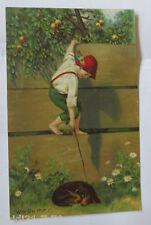 """""""Kinder, Dackel, Wie Du mir"""" 1910  ♥ (32199)"""