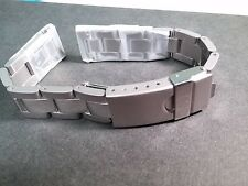 Movado band, 14mm stainless steel, new strap for watch repair