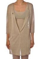 Ottod'ame - Knitwear-Cardigan - Woman - Beige - 1986502E190757