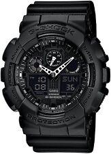 Black G-Shock Chronograph Watch GA-100-1A1ER RRP £110
