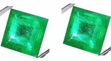 Colombia Square Natural Loose Emeralds