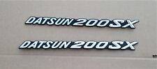 DATSUN 200SX FEDNER EMBLEMS OEM NOS #76854N5800 (2 PIECES) 200 SX