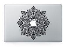 "Flower Mandala Vinyl Decal Sticker for Apple Macbook Air/Pro/Retina 13""15""17"