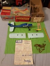 VINTAGE FROG BUCCANEER READY TO FLY MODEL AIRFIX 50S 60S SCARCE !  WIND UP 318F