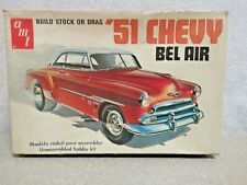 AMT 51 Chevy Bel Air Model Box Only Very Rare Fair Condition For Its Age