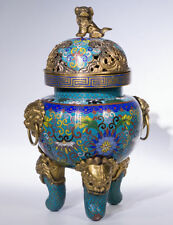 Chinese Cloisonne Antique Asian Statues