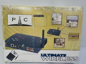 GRANDTEC USA GWB-4000 Ultimate Wireless PC-to-TV System Great Condition