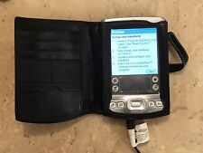 PalmOne Tungsten E Palm Pilot Pda With Ac Adapter Case Works Only Plugged In
