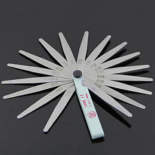 Pretty Metric Feeler Gauge Gap Filler Thickness Measurement Tool 17 Blades JXUK