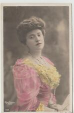 Actress Paule Andral Antique Postcard Reutlinger, Paris 1904