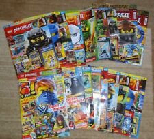 10 verschiedene LEGO NINJAGO Zeitschriften, Legacy, Five!, Comic, TOLLE POSTER