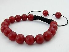 Red Shamballa Costume Jewellery