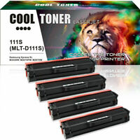 4 Pack Toner Compatible for Samsung MLT-D111S 111S Xpress M2020W M2070FW M2022W
