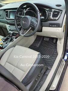 Full Surround Custom Made Floor Mats /Carpets 3 Rows For Kia Carnival 2015-2020