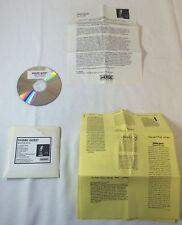 Merge Records promo CD ~ SHARK QUEST Man On Stilts plus promo sheets