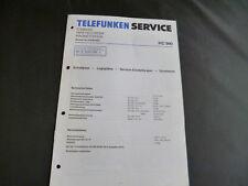Original Service Manual Telefunken HC 990