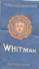 1910 Whitman College Egyptienne Luxury Cigarettes Tobacco Silk
