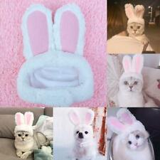 Cat Bunny Rabbit Ears Hat Cap Pets Cosplay Costumes for Cat Small Dogs Party New