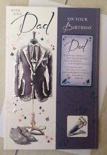 Dad Birthday Card With Sentiment Wallet Keepsake